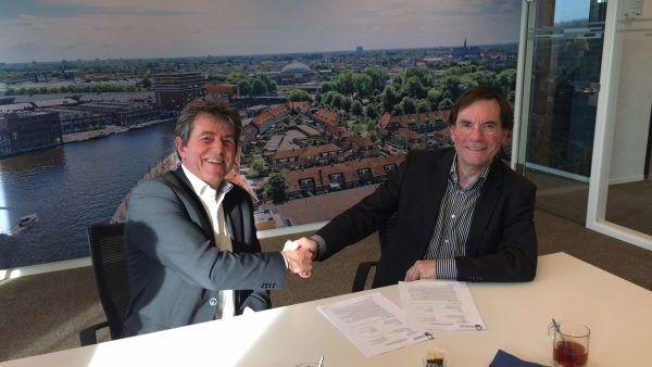 Contractondertekening Oostertuinen Beverwijk