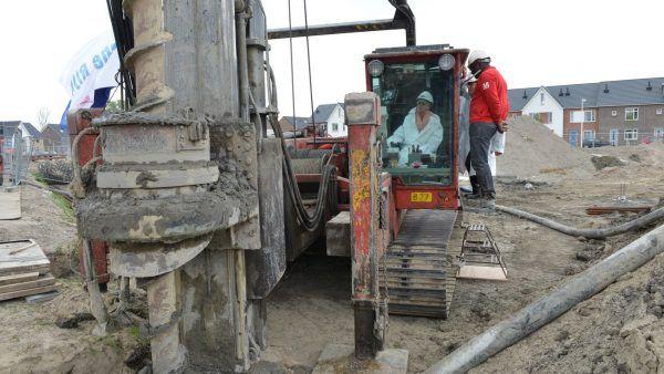 Start bouw Auxilia – Utrecht