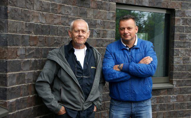 Jaap Tol-Pinkel en Hus Smid
