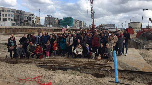 Start bouw HEROES (Blok 10), Zeeburgereiland
