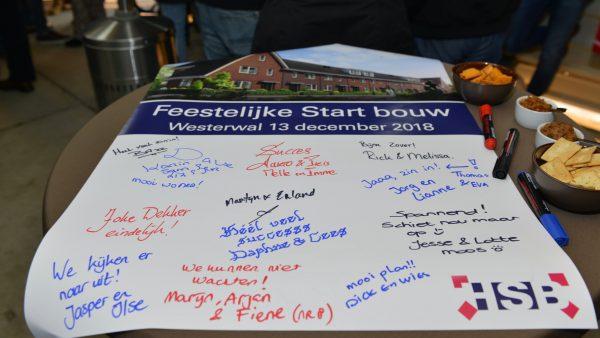 Feestelijke start bouw Westerwal