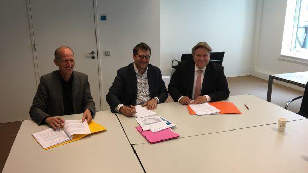 Ondertekening anterieure overeenkomst Gouwpark