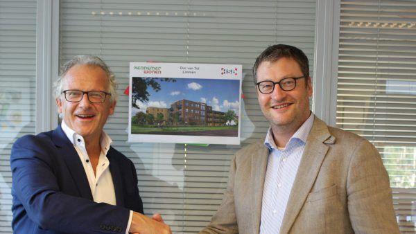 Turnkey-overeenkomst Kennemer Wonen en HSB