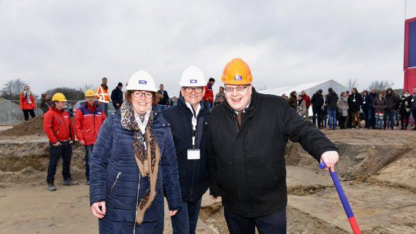 Officiële start bouw 100 woningen in Limmen