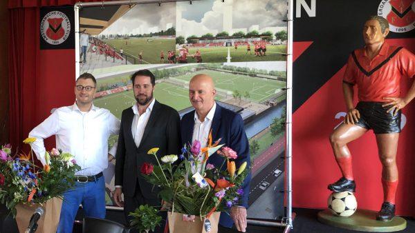 HSB tekent contract voor bouw nieuw clubhuis AFC