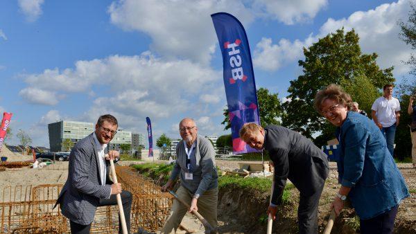 Start bouw La Sabbia, Utrecht