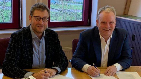 Contractondertekening gemeente Waterland – HSB