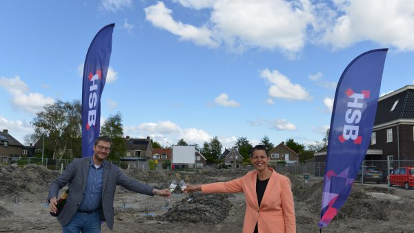 Start bouw project De Vriendschap in Nibbixwoud