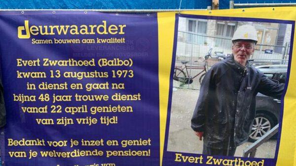 Na bijna 48 jaar met pensioen: Evert Zwarthoed