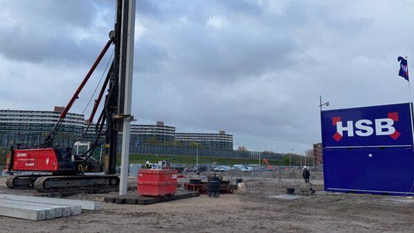 1e Paal Elzenhagen Zuid in Amsterdam-Noord