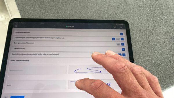 Digitaliseren opleverproces